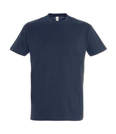SOLS Mens Imperial Heavyweight Short Sleeve T-Shirt (Navy) - UTPC290