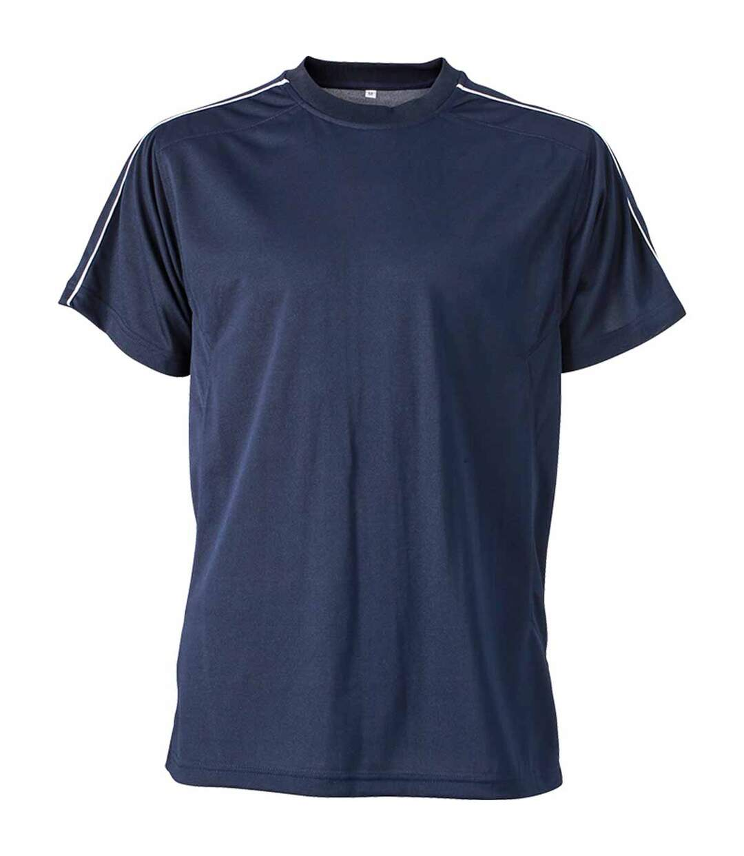 T-shirt artisan anti-bactérien anti-statique - JN827 - bleu marine