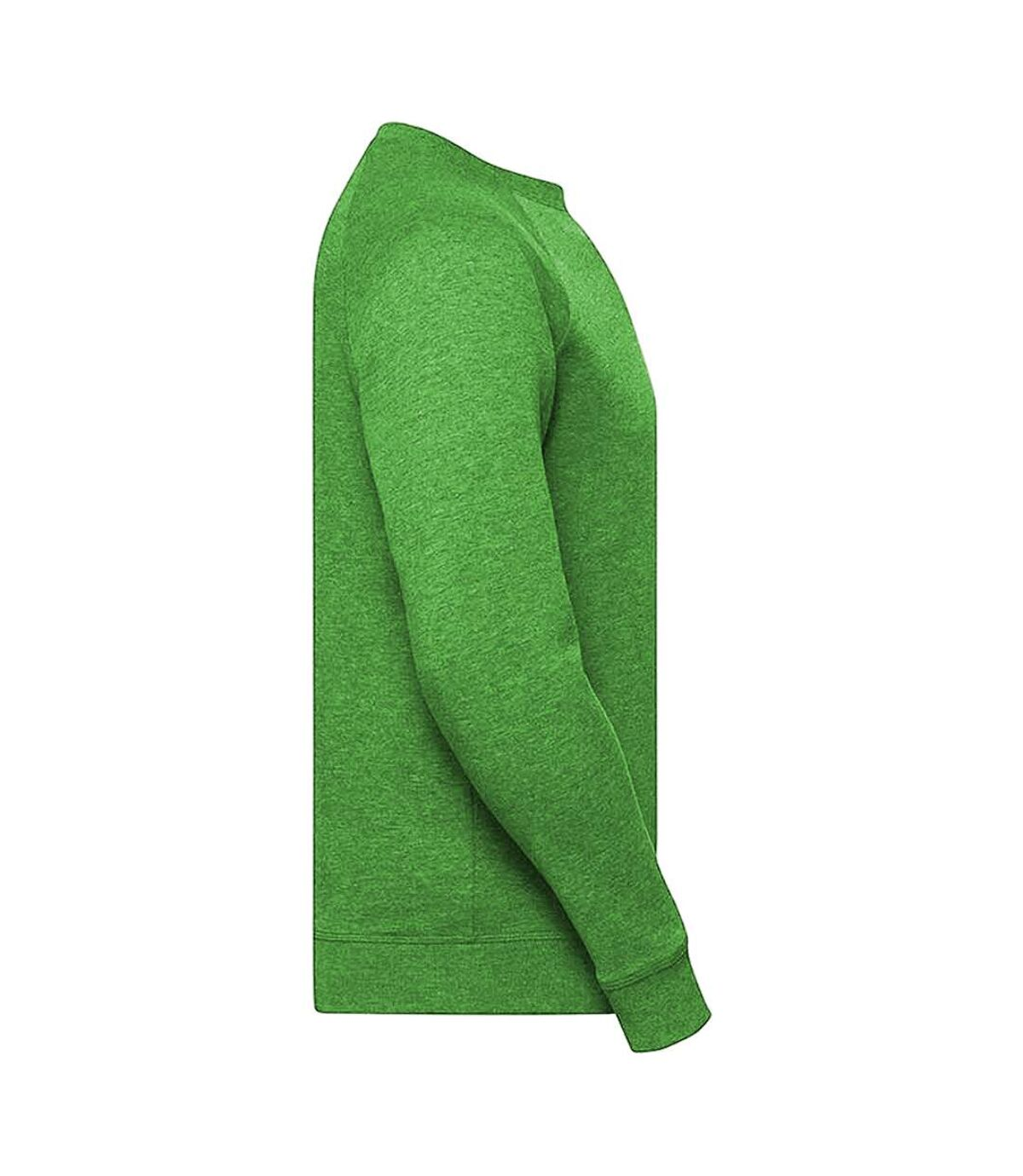 Russell Mens HD Raglan Sweatshirt (Green Marl) - UTRW5506