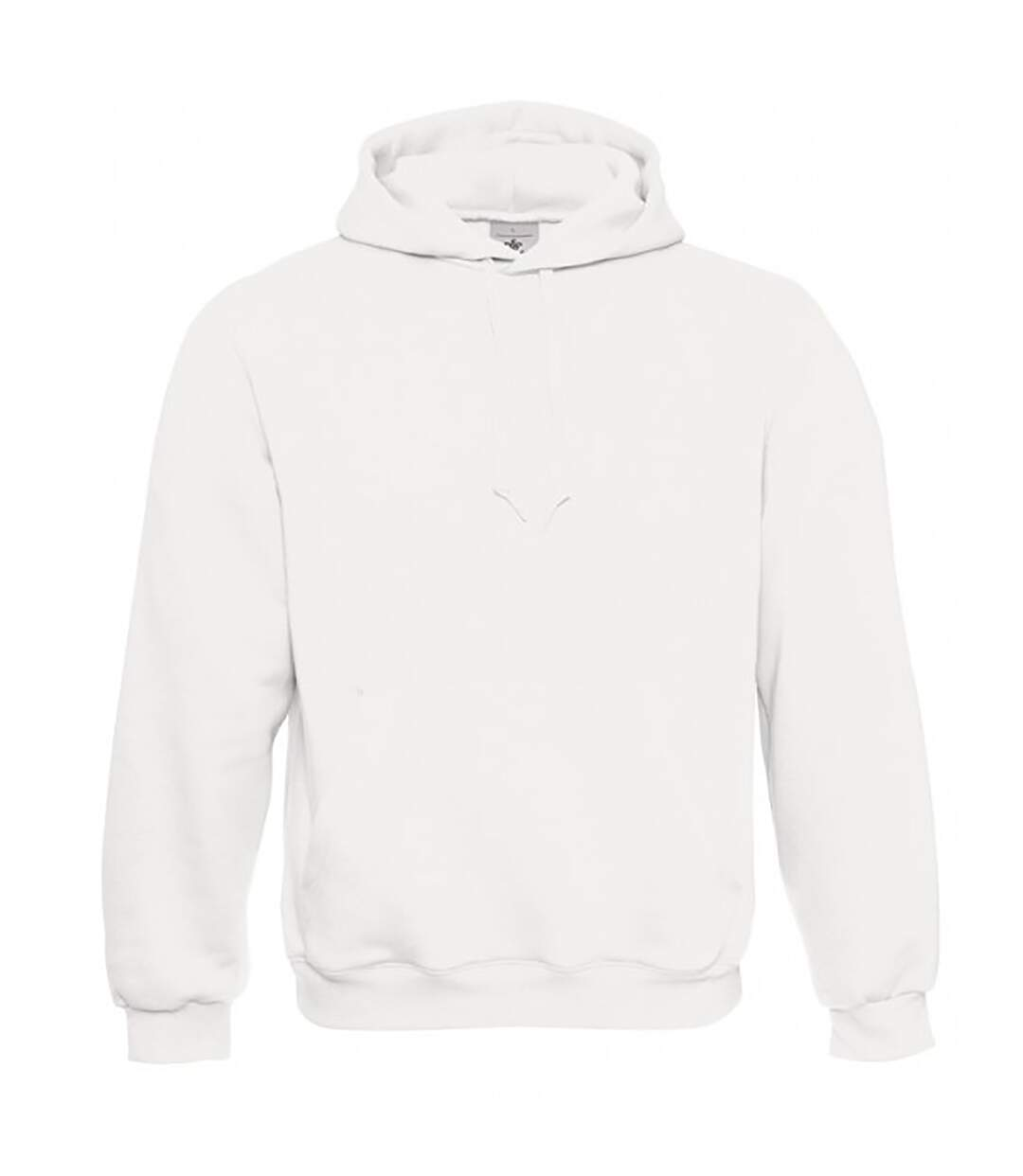 B&C Mens Hooded Sweatshirt / Hoodie (Heather Grey) - UTBC127