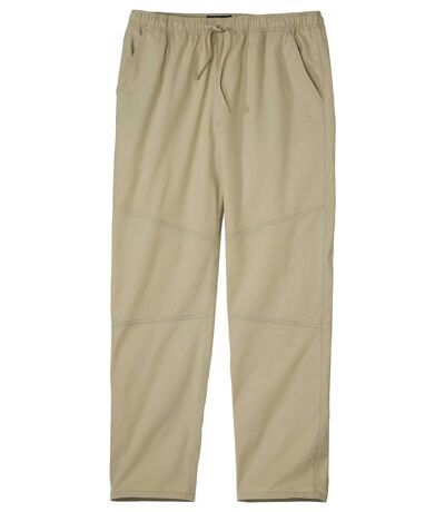 Men's Casual Beige Pants