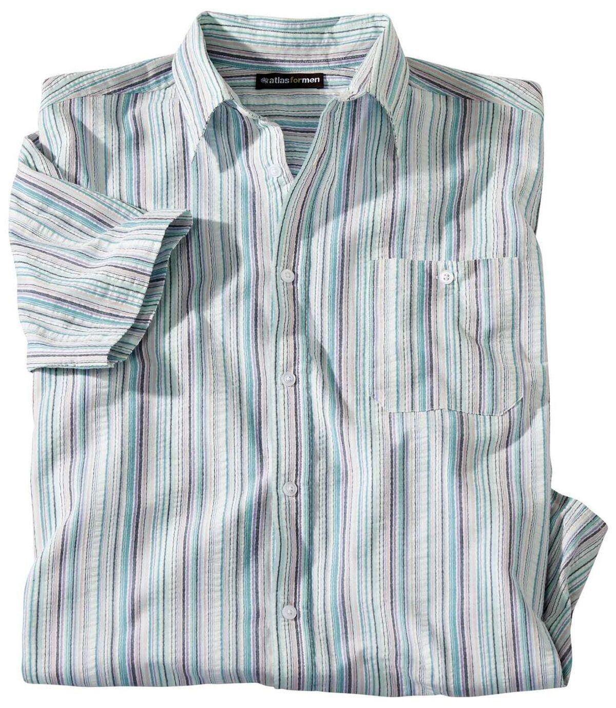 Košile z krepové bavlny Santa Monica Atlas For Men