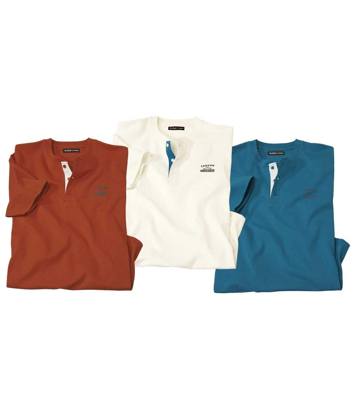 3 darabos Atlas ® pólóból álló szett  Atlas For Men