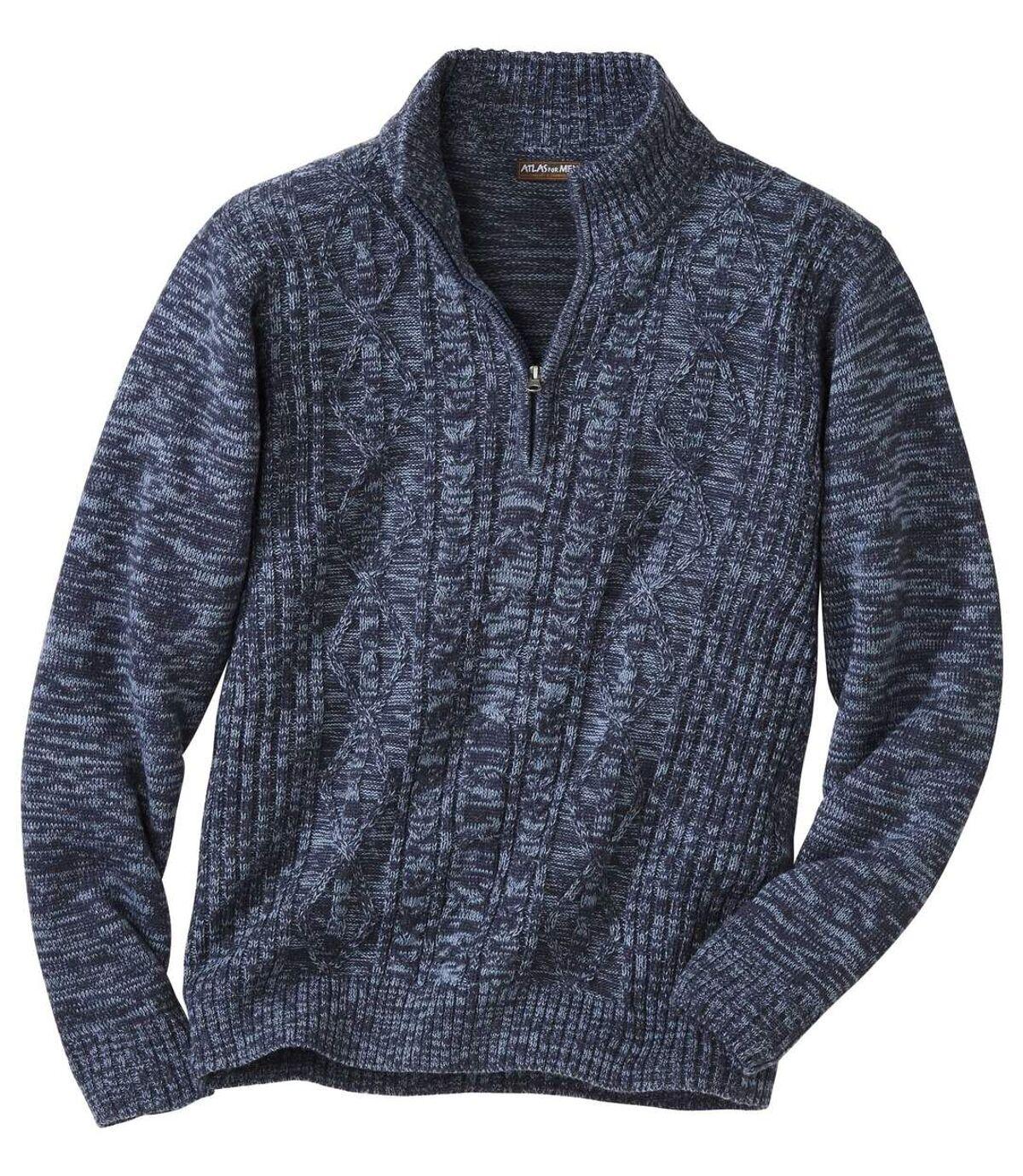 Sweter z warkoczami Rio Grande Atlas For Men