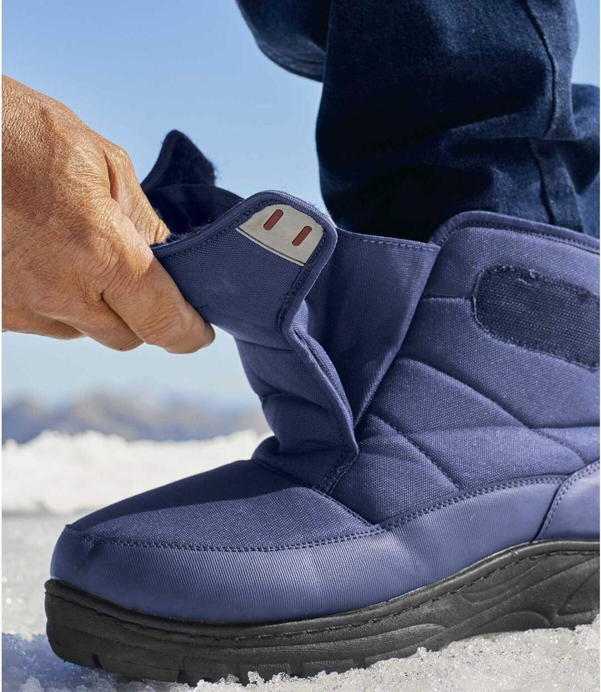 Schnee-Boots mit Teddyfutter Atlas For Men