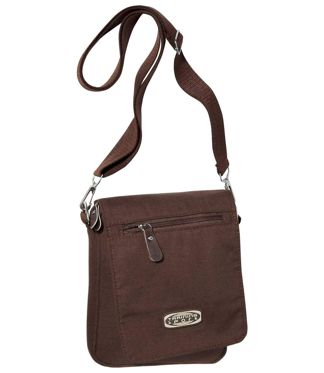 Men's Brown Canvas Holster Bag Atlas For Men