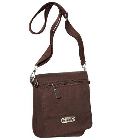 Men's Brown Canvas Holster Bag