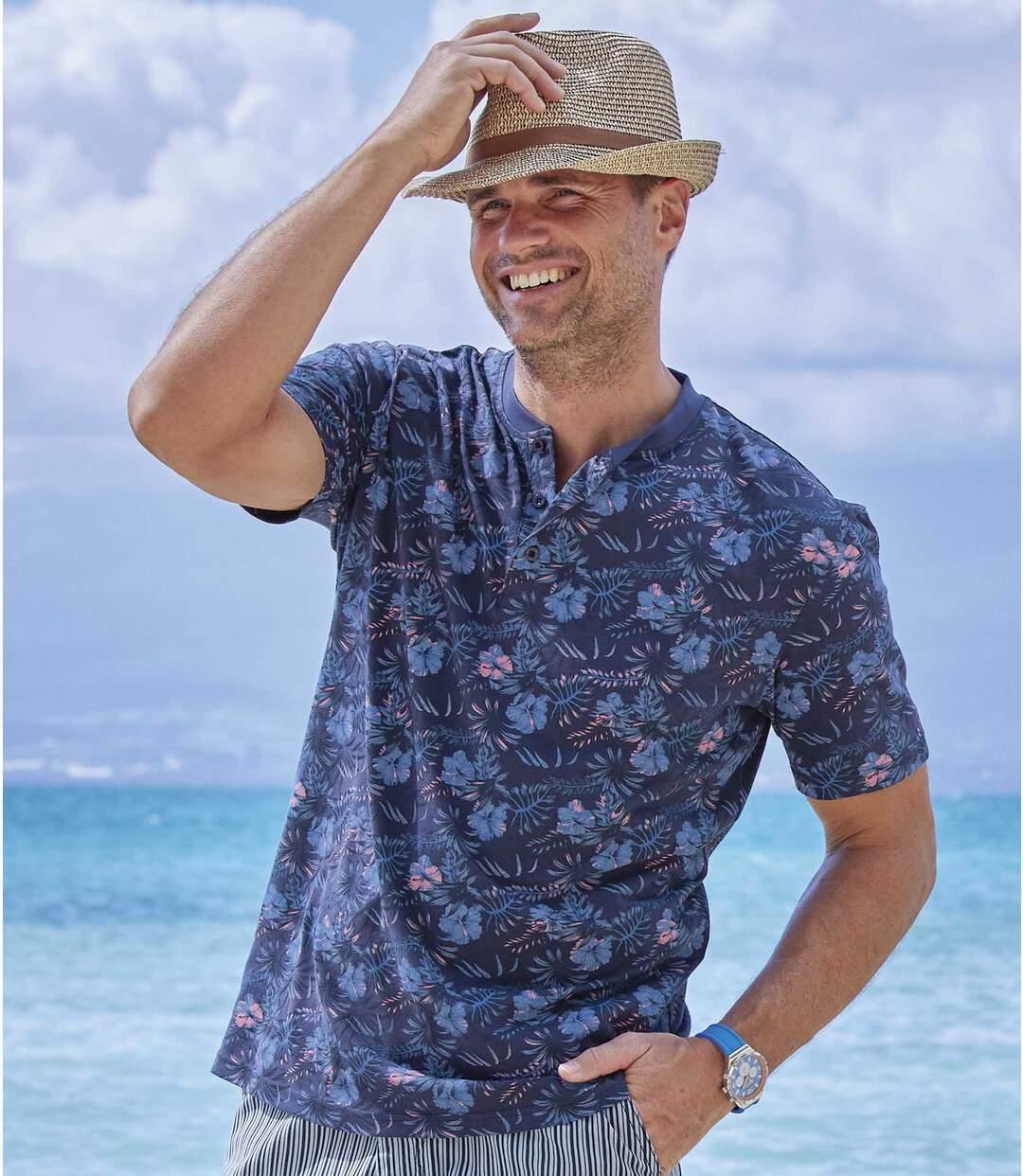 Men's Exotic Print T-Shirt Atlas For Men
