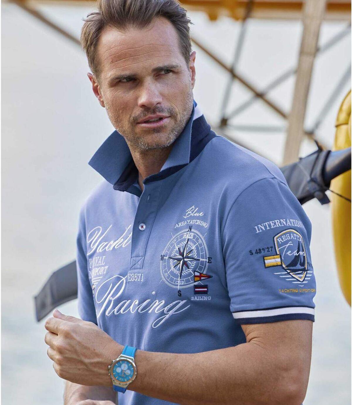 Polo tričko Yacht Racing Atlas For Men