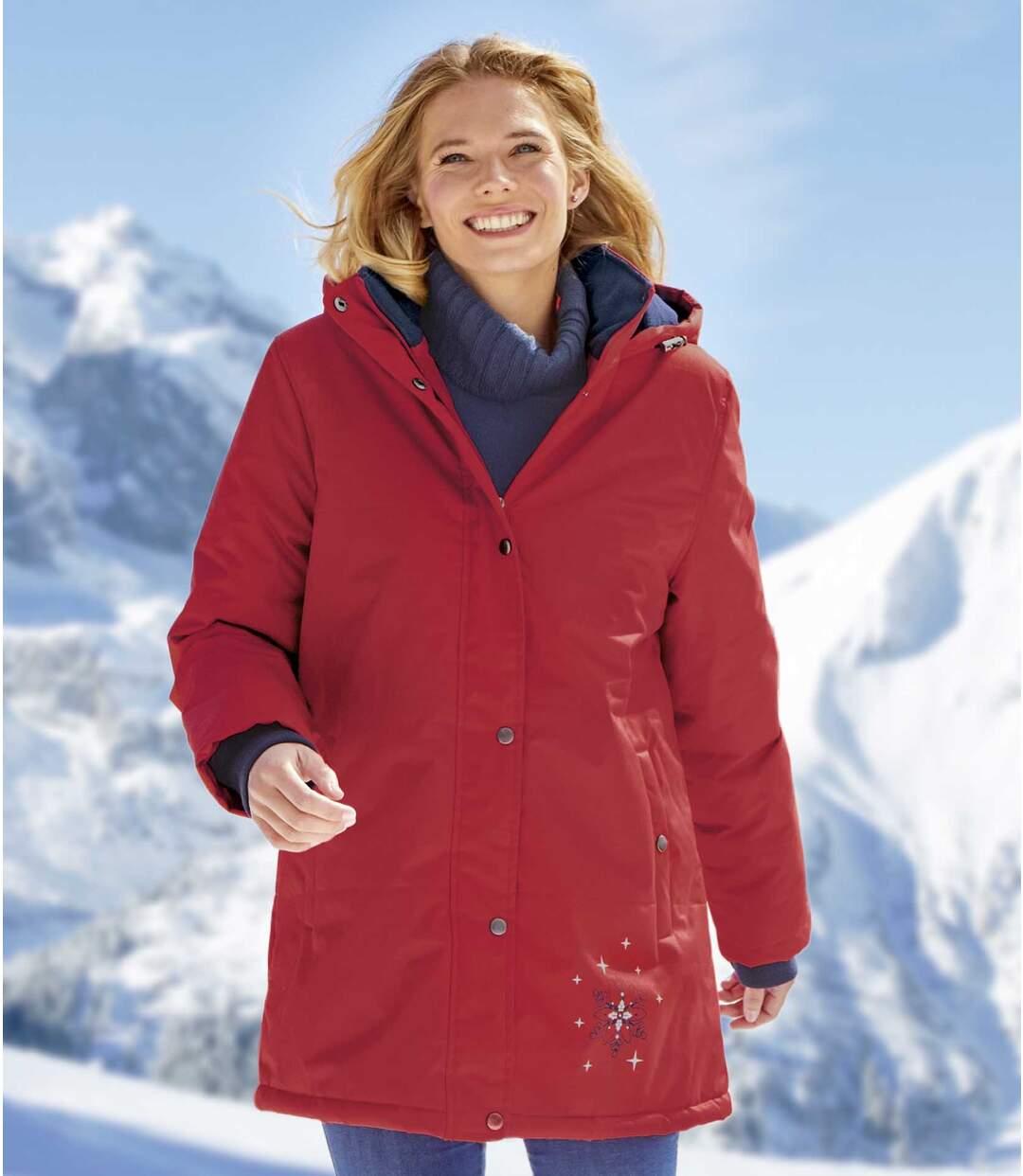 Lyžařská bunda s kapucí
