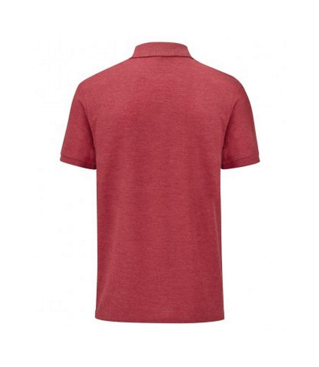 Fruit Of The Loom Mens Tailored Poly/Cotton Piqu Polo Shirt (Heather Red) - UTPC3572