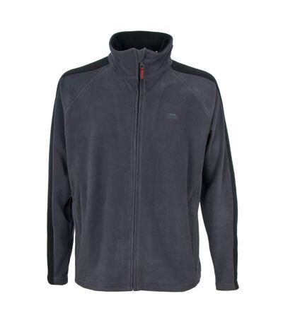 Trespass Mens Acres Full Zip Fleece Jacket (Flint) - UTTP253