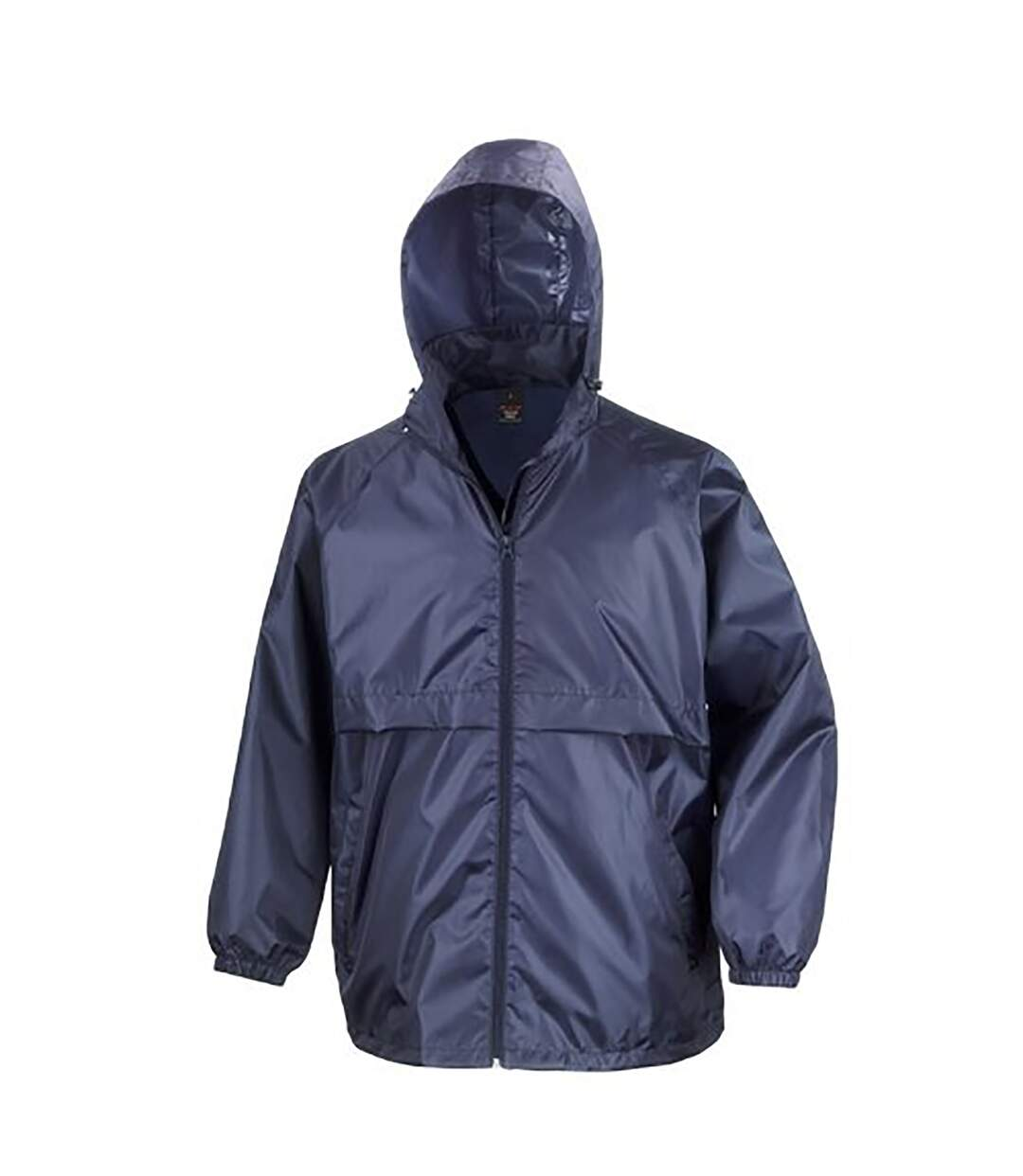 Result Mens Core Adult Windcheater Water Repellent Windproof Jacket (Purple) - UTBC897