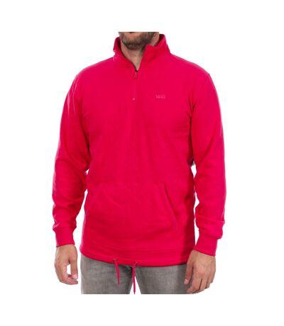 Sweat 1/2 zip Rose Homme Vans Versa