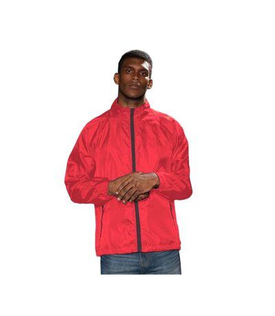 2786 - Veste de pluie légère - Homme (Bleu/Blanc) - UTRW2501