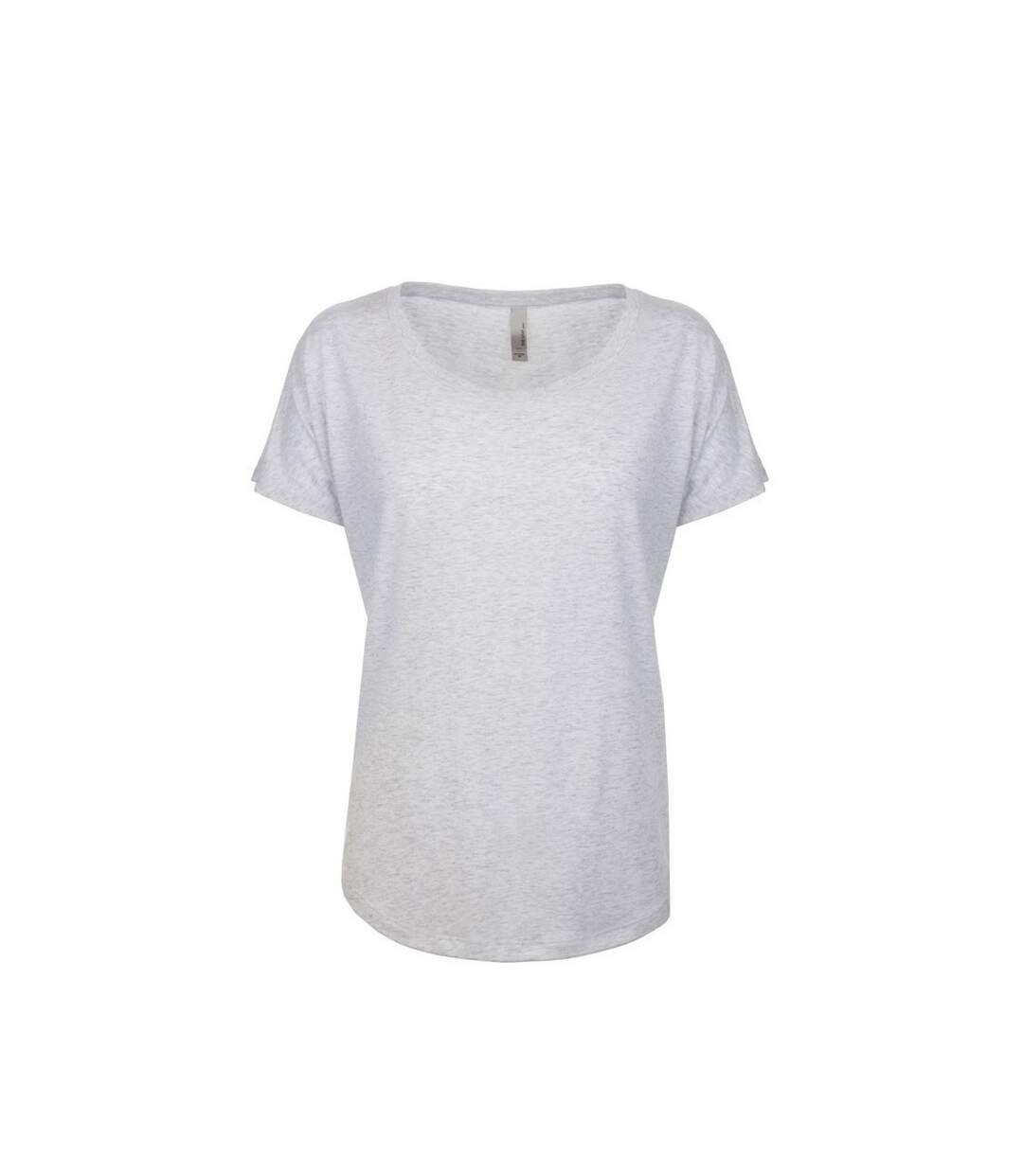 Next Level - Tri-Blend Dolman T-Shirt - Femme (Blanc chiné) - UTPC3494