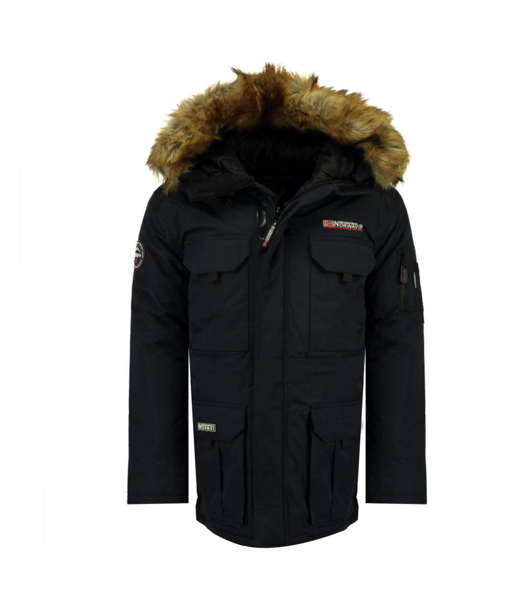 Parka noir femme Geographical Norway Alpes