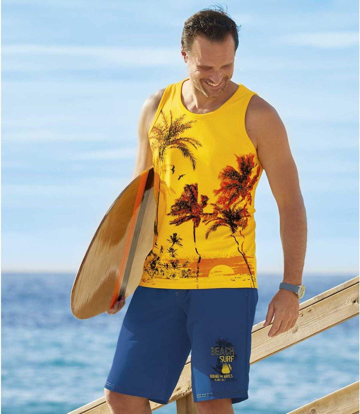 Bermudy kąpielowe Surfing Beach Atlas For Men