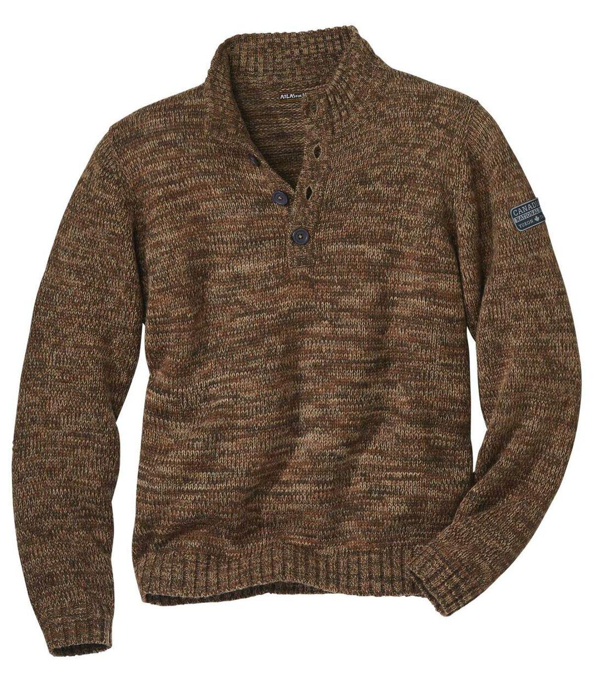 Melírovaný pulovr Yukon Atlas For Men