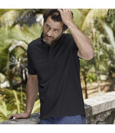 Tee Jays Mens Fashion Stretch Polo (White) - UTBC4044