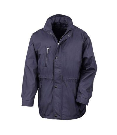Result Mens Premium City Executive Breathable Winter Coat (Navy Blue) - UTBC848