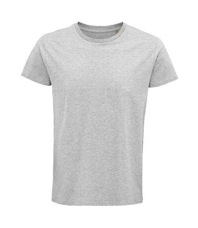 SOLS Mens Crusader Organic T-Shirt (Grey Marl) - UTPC4316