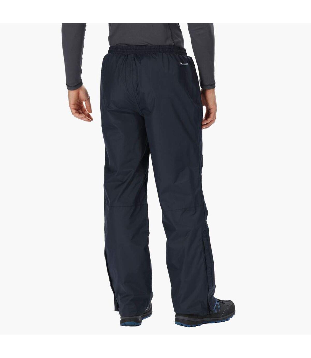 Regatta Great Outdoors Mens Chandler III Showerproof Overtrousers (Regular Leg) (Navy) - UTRG2519