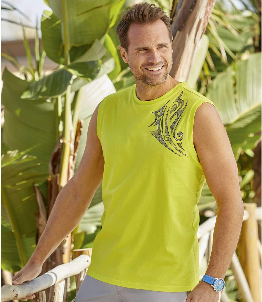Zestaw 3 t-shirtów bez rękawów Bora Bora Atlas For Men