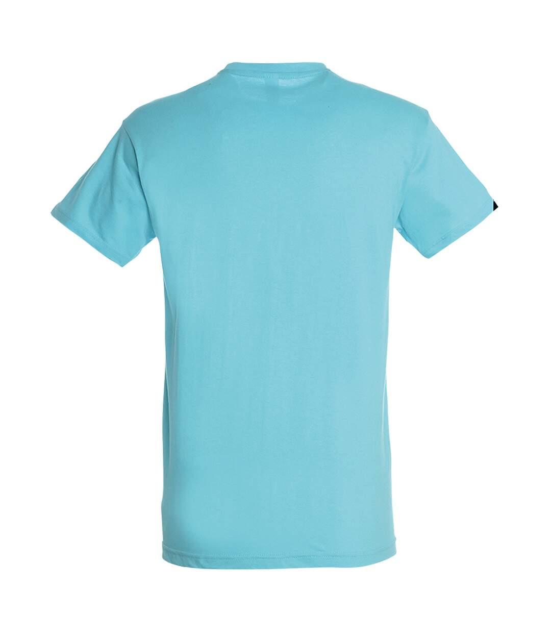 SOLS Mens Regent Short Sleeve T-Shirt (Aqua) - UTPC288