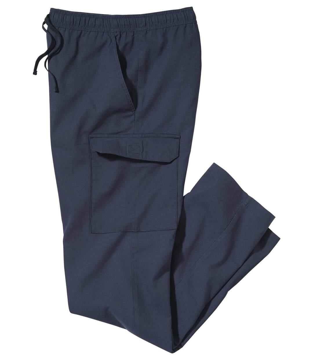 Wygodne spodnie-bojówki