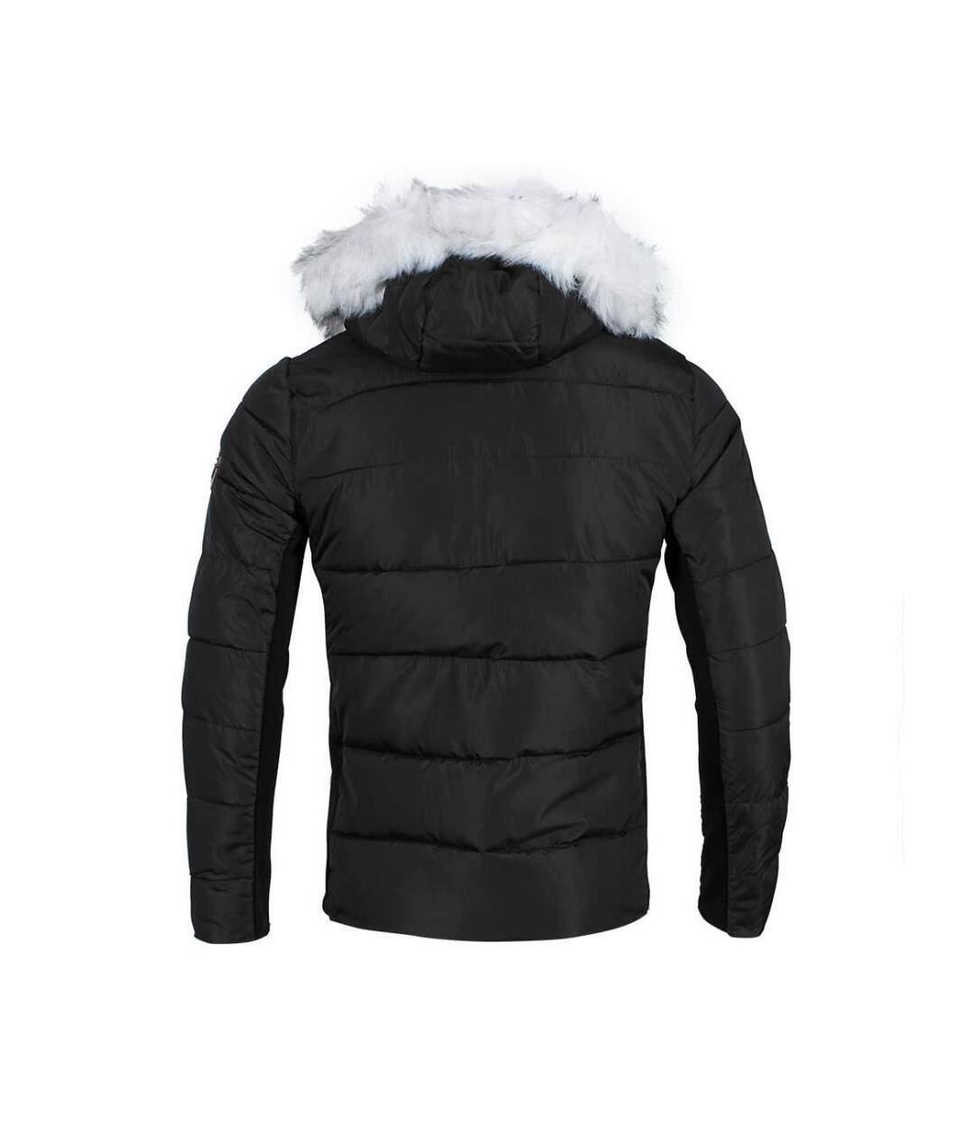 Parka Noire Homme Hite Couture Nator