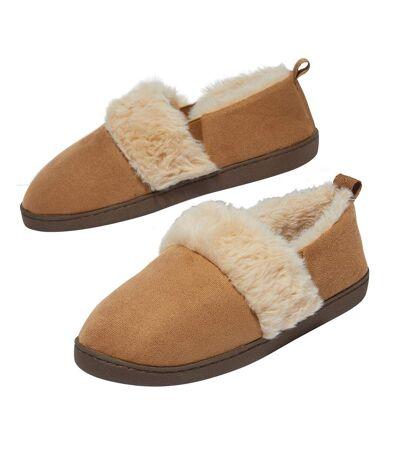 Dámske zateplené papuče