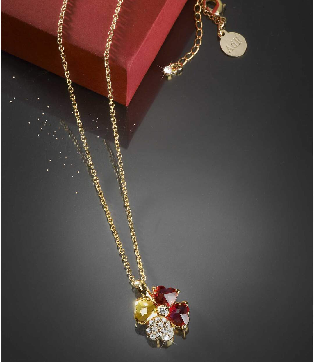 Women's Lucky Charm Necklace - Embellished with Swarovski® crystals