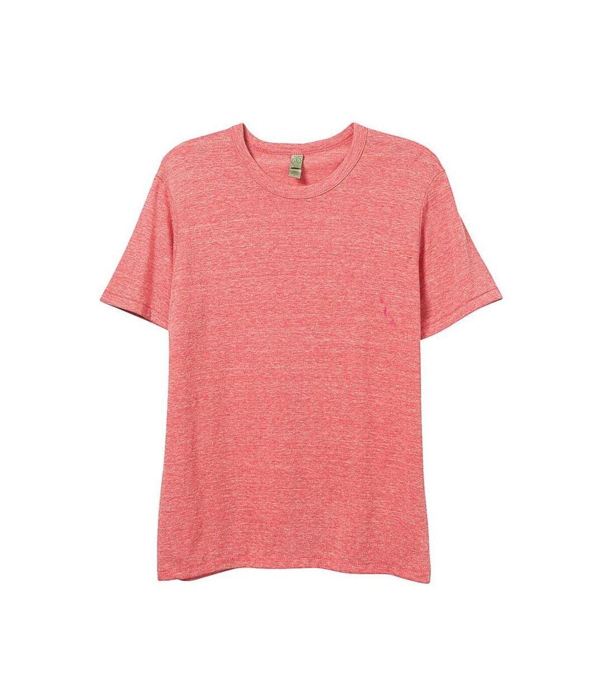Alternative Apparel Mens Eco Jersey Crew T-shirt (Eco Red) - UTRW6004
