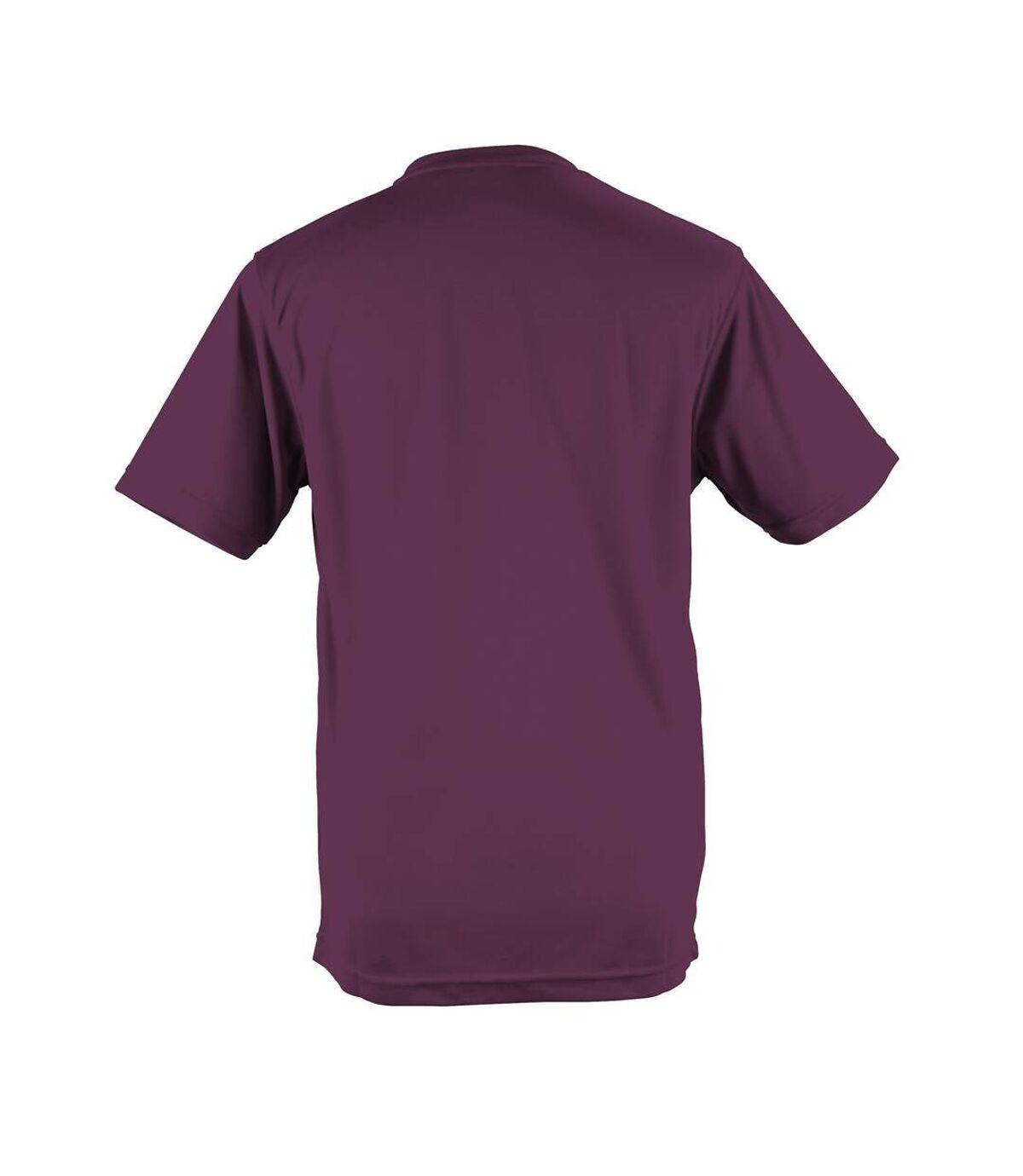 AWDis Just Cool Mens Performance Plain T-Shirt (Purple) - UTRW683
