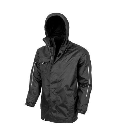Result Core Mens Printable 3-In-1 Transit Jacket (Black) - UTPC2639