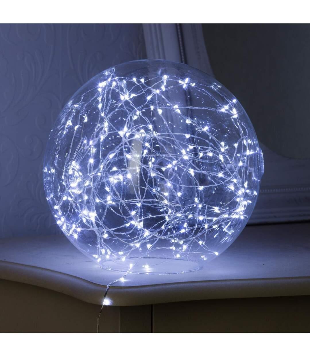 Feeric Christmas - Guirlande lumineuse Intérieur  20 MicroLED Blanc Froid sur 1.90 m