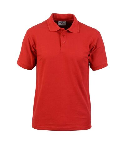 Absolute Apparel - Polo manches courtes PRECISION - Homme (Rouge) - UTAB105