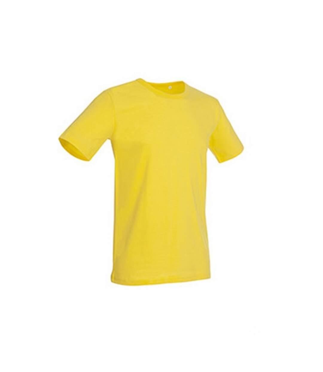 Stedman Stars Mens Morgan Crew Neck Tee (Daisy Yellow) - UTAB357