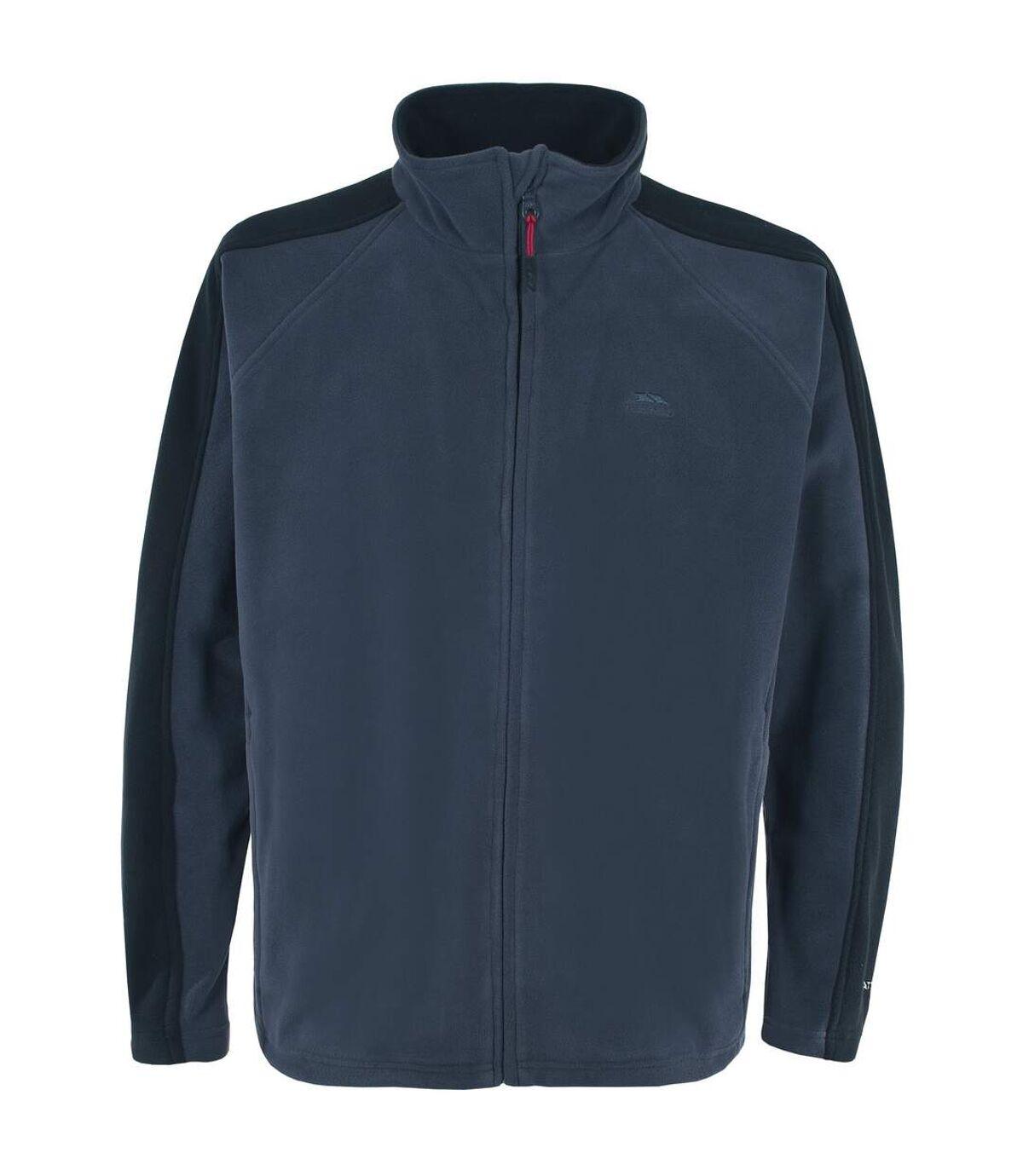 Trespass Mens Acres Full Zip Fleece Jacket (Navy Tone) - UTTP253