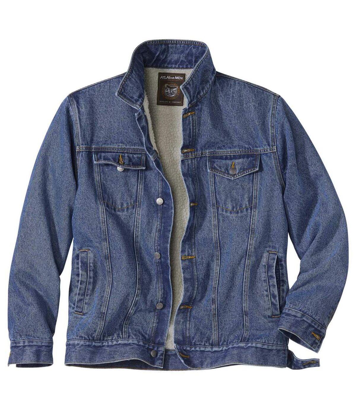Zateplená džínsová bunda Atlas For Men