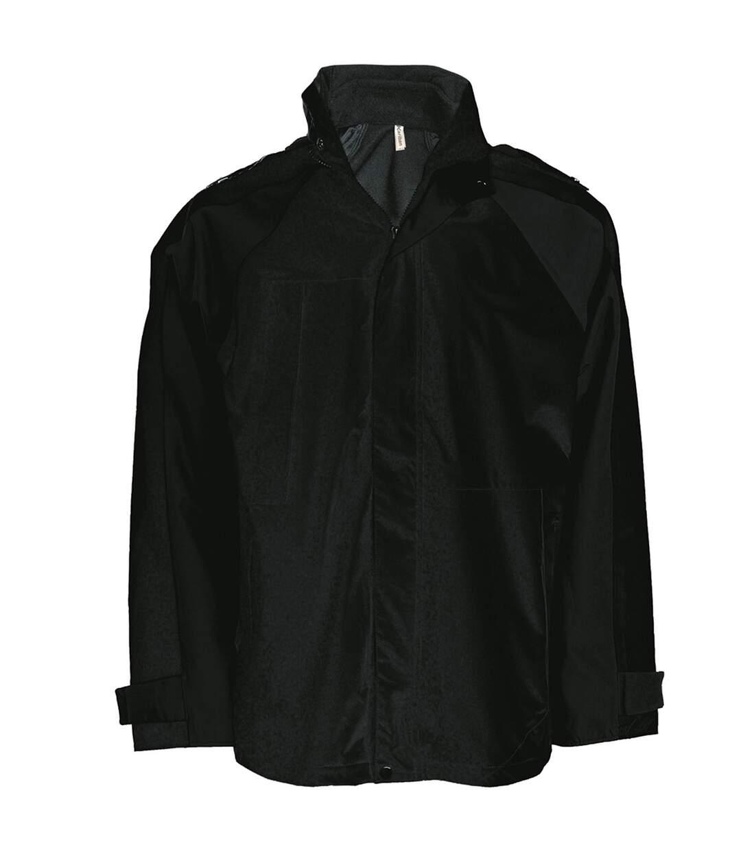 Kariban Mens 3-in-1 Waterproof Performance Jacket (Black) - UTRW729