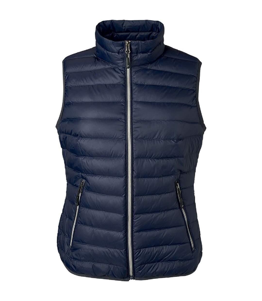 Bodywarmer duvet - JN1137 - bleu indigo - Femme