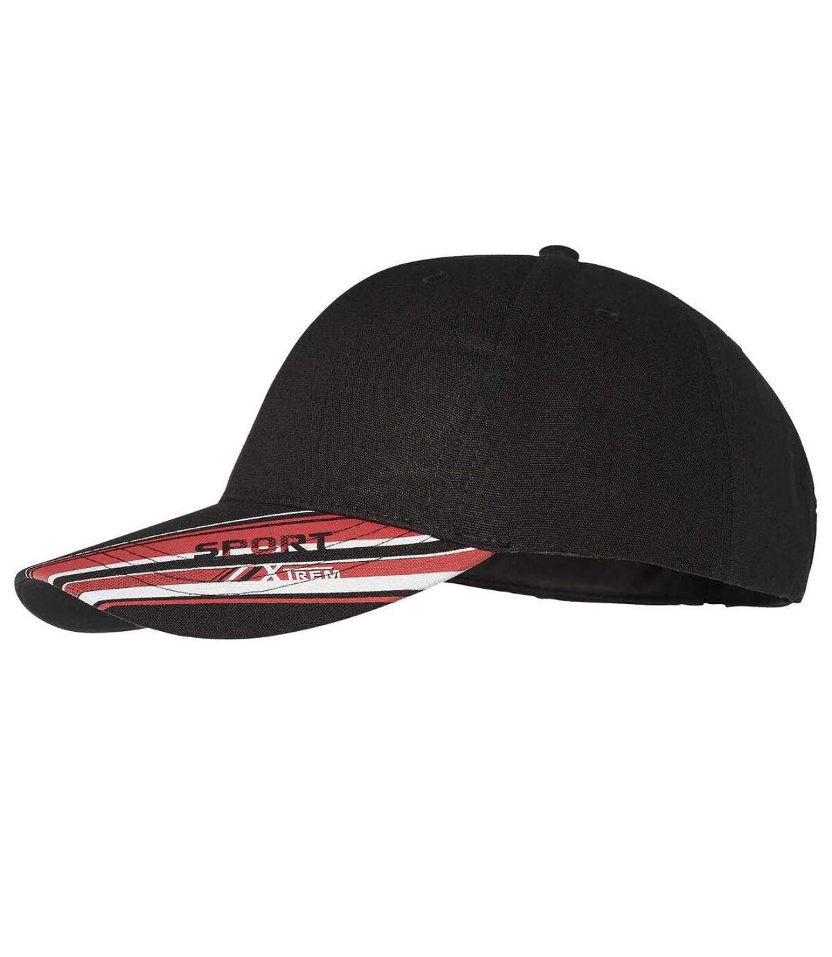 Men's Xtrem Sport Canvas Cap - Black Atlas For Men