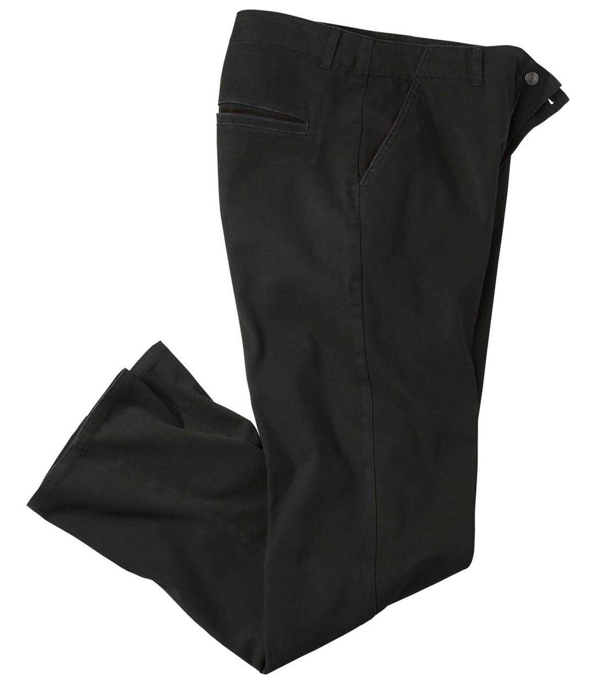 Chino kalhoty ze strečového kepru Atlas For Men