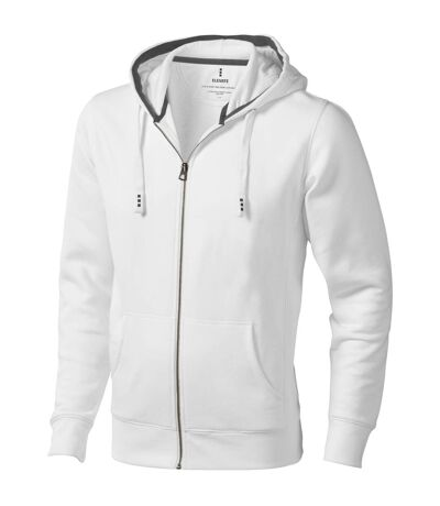 Elevate Arora - Sweat à capuche zippé - Homme (Blanc) - UTPF1850