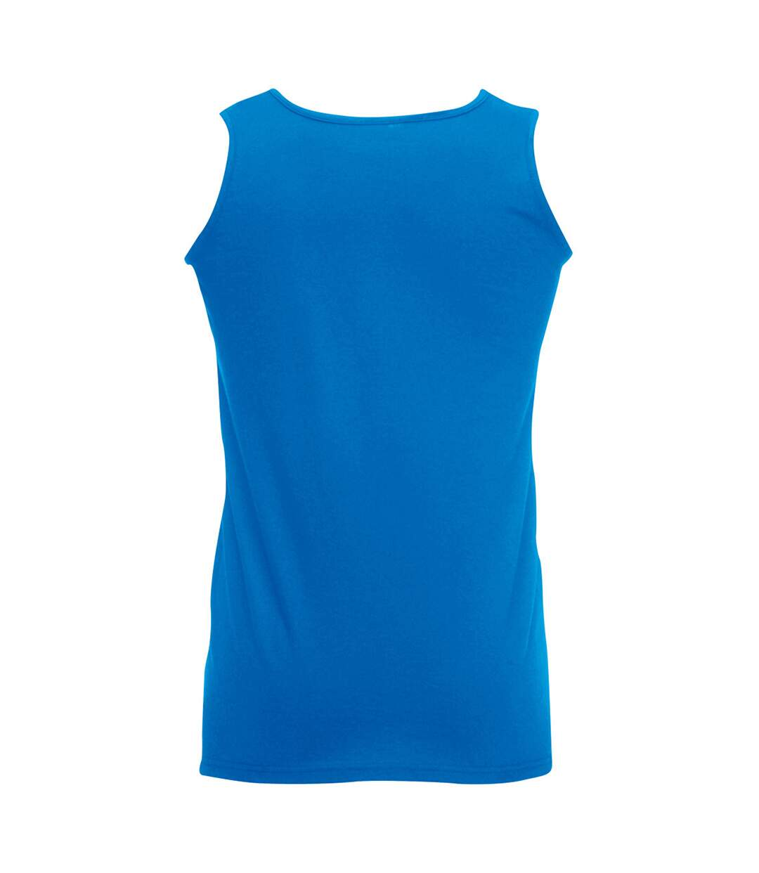 Fruit Of The Loom Mens Athletic Sleeveless Vest / Tank Top (Royal) - UTBC341