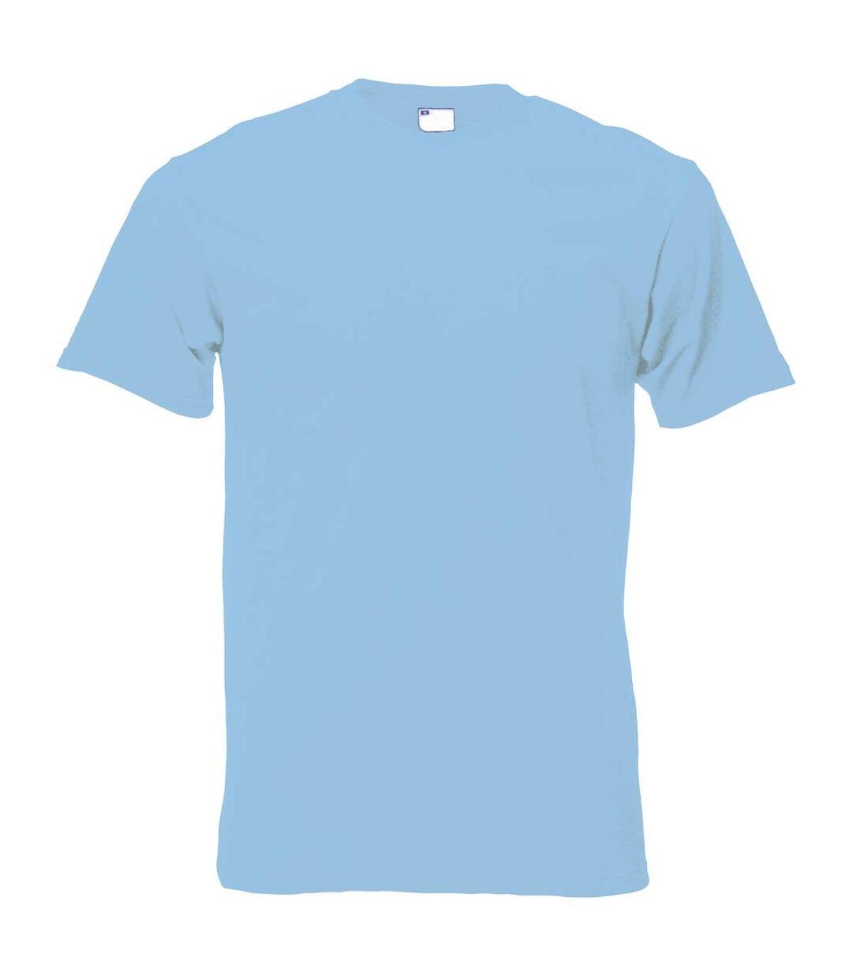 Mens Short Sleeve Casual T-Shirt (Bright Yellow) - UTBC3904