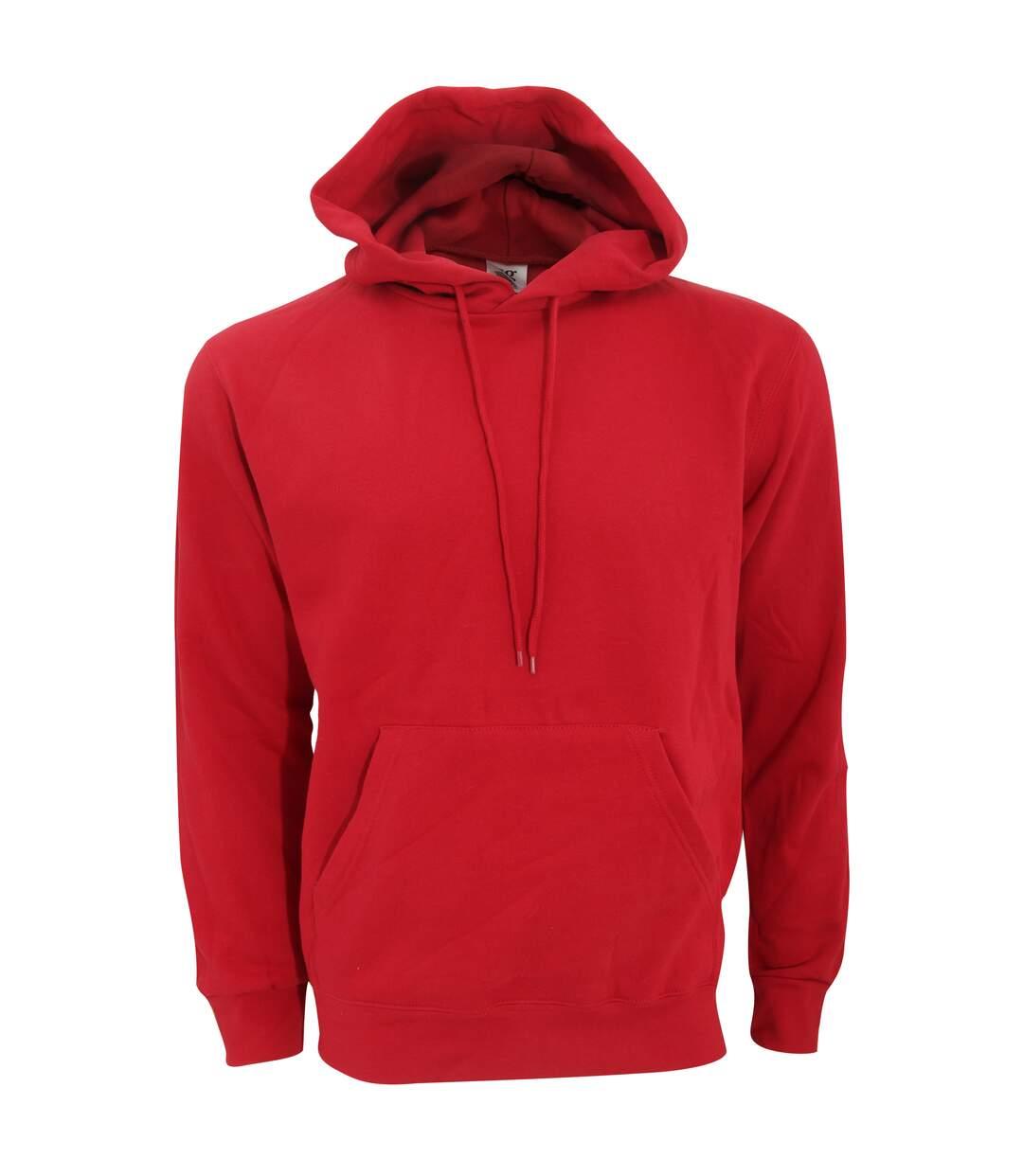 SG Mens Plain Hooded Sweatshirt Top / Hoodie (Navy Blue) - UTBC1072