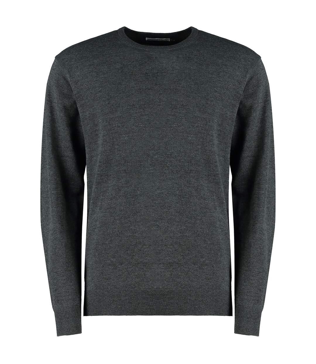 Kustom Kit Mens Arundel Crew Neck Sweater (Graphite Grey) - UTPC3840